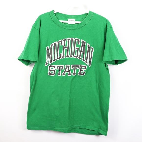 a2dff786 ... starter shirts vtg mens medium michigan state shirt green poshmark ...